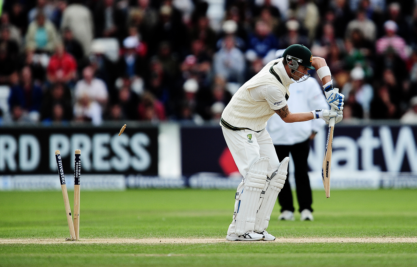 Michael Clarke featured pretty frequently in the dismissed column of our longlist
