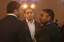 Mumbai Indians owner Akash Ambani talks to Mahela Jayawardene, IPL 2020 Player Auction, Kolkata, December 19, 2019