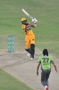 Shoaib Malik attempts a big hit, PSL 2020, Lahore Qalandars vs Peshawar Zalmi, Karachi, November 14, 2020