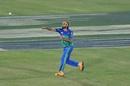 Imran Tahir takes aim, Multan Sultans v Lahore Qalandars, PSL 2020 Eliminator 2, Karachi, November 15, 2020
