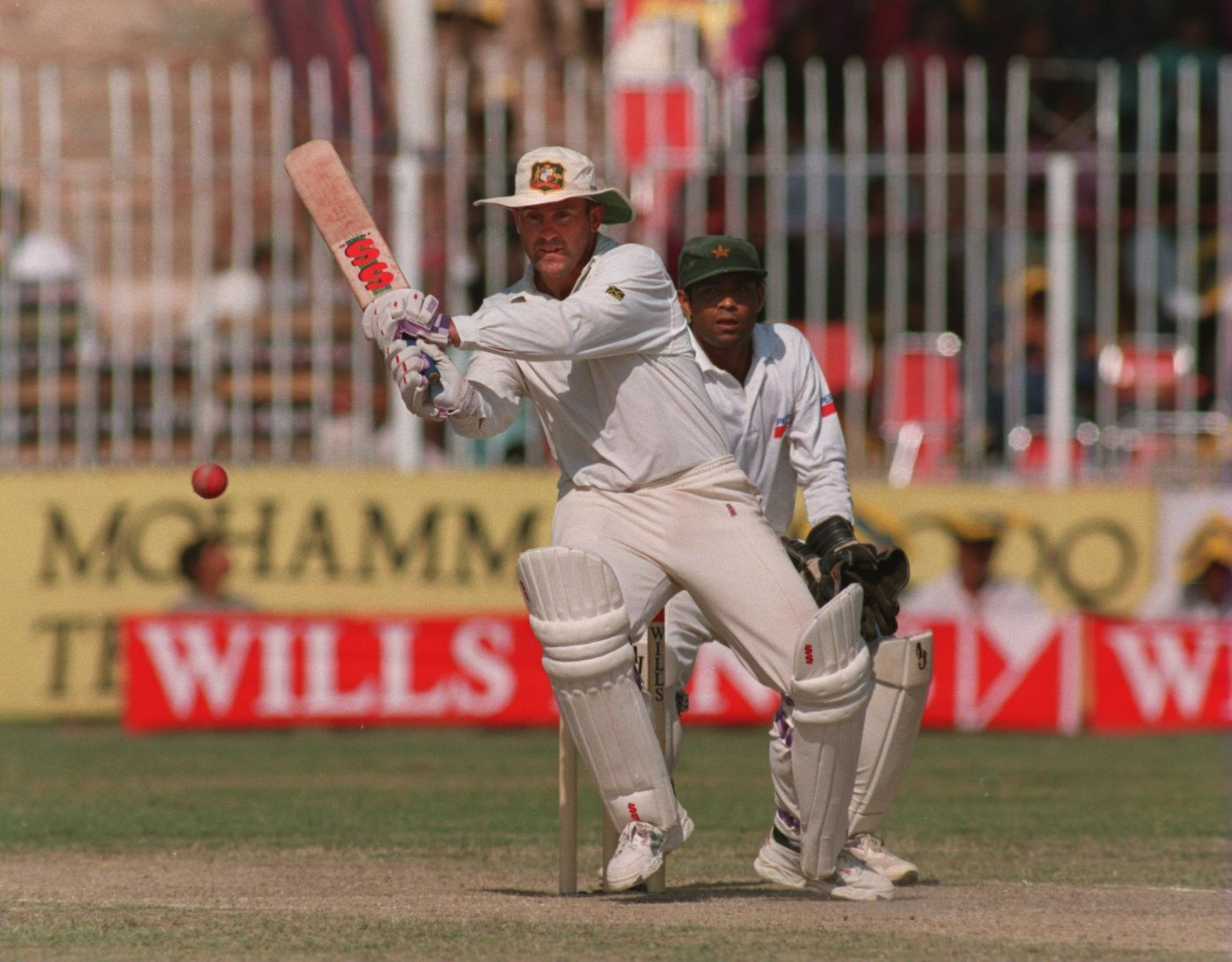 Mark Taylor made his debut as Test captain in the first Test in Karachi in 1994, and bagged a pair in the match