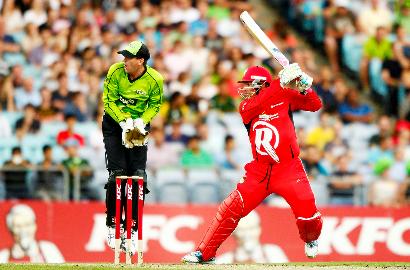 Renegade in red: Finch in the first season of the BBL