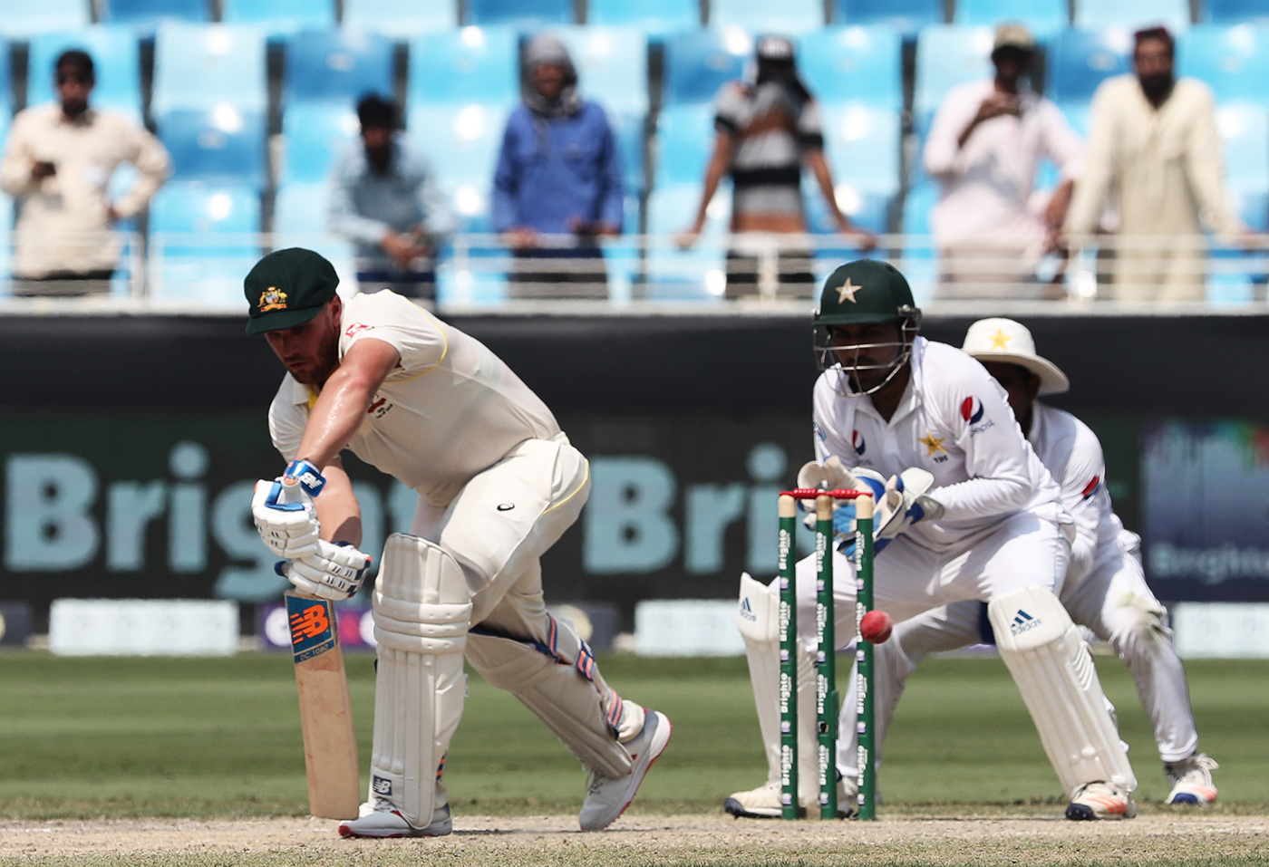 Finch was a bright spot on the 2018 Test series against Pakistan that was very nearly a complete disaster for Australia