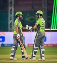 Tamim Iqbal and Fakhar Zaman were involved in a fifty opening stand, Karachi Kings vs Lahore Qalandars, Karachi, PSL 2020, November 17, 2020