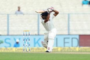 File photo - Wriddhiman Saha took throwdowns in the nets