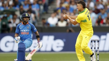 With Virat Kohli, 'you do what you want to do, and you hope it all falls in your side of the court' - Marcus Stoinis