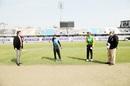 Captains Mushfiqur Rahim and Najmul Hossain Shanto during the toss, Dhaka T20 vs Rajshahi T20, Bangabandhu T20 Cup, Dhaka, November 24, 2020
