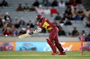 Fabian Allen tucks one to the on side, New Zealand vs West Indies, 1st T20I, Auckland, November 27, 2020
