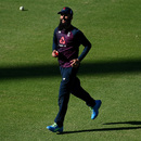 Moeen Ali looks on, England nets session, Newlands, Cape Town, November 26, 2020