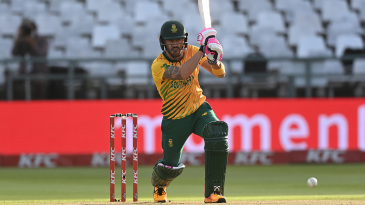 Faf du Plessis led the charge for South Africa