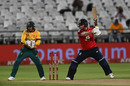 Jonny Bairstow plays off the back foot, South Africa v England, 1st T20I, Cape Town, November 27, 2020
