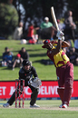 Kieron Pollard hits over the top, New Zealand vs West Indies, 2nd T20I, Mount Maunganui, November 29, 2020