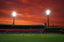 A gorgeous sight as night falls at the SCG, Australia v India, 2nd ODI, Sydney, November 29, 2020