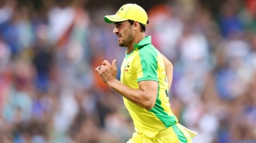 Mitchell Starc has not quite found his radar in the series so far