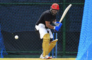 Hazratullah Zazai in the nets, Lanka Premier League (LPL), November 25, 2020