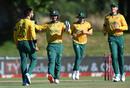 Tabraiz Shamsi roars in celebration, South Africa vs England, 2nd T20I, Paarl, November 29, 2020