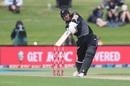 Martin Guptill drives on the up, New Zealand vs West Indies, 2nd T20I, Mount Maunganui, November 29, 2020