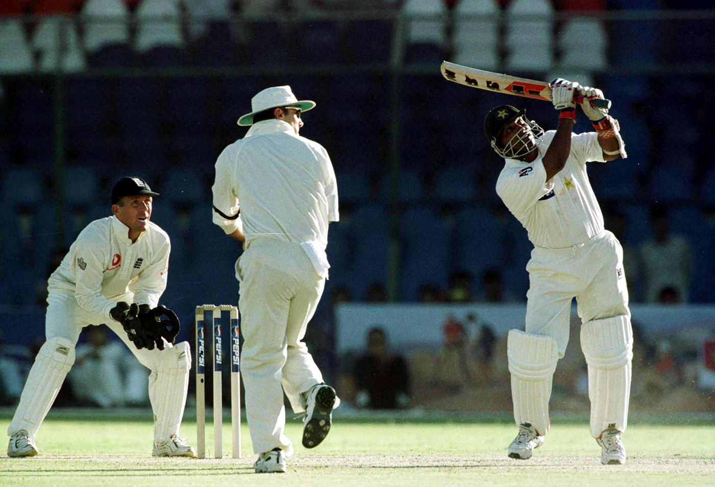 In his first series against England, Mohammad Yousuf averaged 85.5. Overall, in 24 innings against England, he made 1499 runs, including four hundreds and two doubles