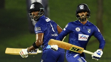 Dhananjaya de Silva and Thisara Perera put on a rapid century stand