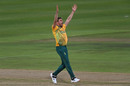 Anrich Nortje appeals for a wicket, South Africa vs England, 3rd T20I, Cape Town, December 1 2020