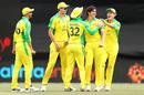 Sean Abbott struck in his first over to remove Shikhar Dhawan, Australia vs India, 3rd ODI, Canberra, December 2, 2020