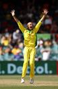Ashton Agar goes up in appeal, Australia vs India, 3rd ODI, Canberra, December 2, 2020