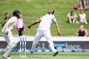 Shannon Gabriel in his delivery stride, New Zealand vs West Indies, 1st Test, Hamilton, 1st day, December 3, 2020