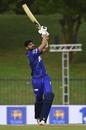 Shoaib Malik goes over the top, Jaffna Stallions vs Dambulla Viiking, Lanka Premier League, Hambantota, November 30, 2020