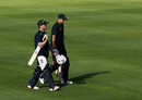 Eoin Morgan and Joe Root chat in training, South Africa vs England, Newlands, Cape Town, ODI series, December 3, 2020