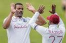Shannon Gabriel celebrates a wicket, New Zealand vs West Indies, 1st Test, Hamilton, 2nd day, December 4, 2020