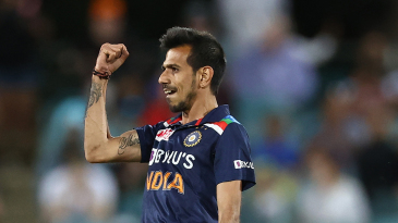 Yuzvendra Chahal made a big impact after coming on as a concussion substitute