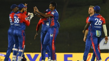 Dushmantha Chameera made inroads for Colombo Kings