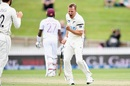 Neil Wagner celebrates a wicket, New Zealand vs West Indies, 1st Test, Hamilton, 3rd day, December 5, 2020