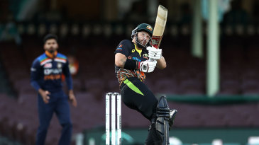 Matthew Wade drops his shoulder and plays the ramp