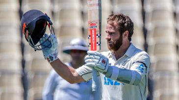 Kane Williamson's 251 is the second-highest score by a captain against West Indies in Tests