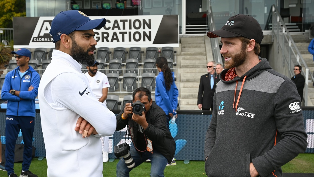 Kane Williamson and Virat Kohli are tied on points, not too far behind Steven Smith
