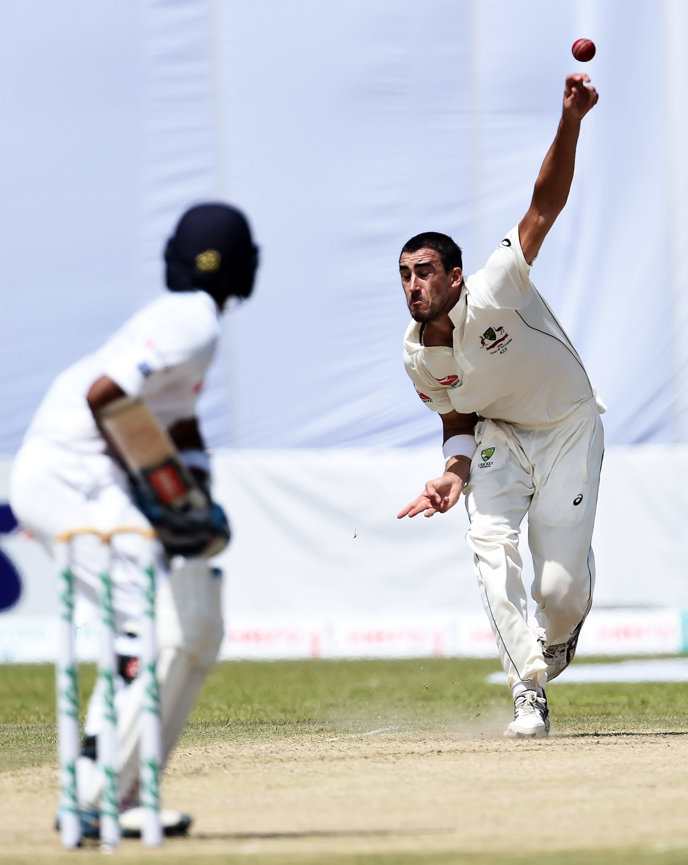 Australia lost all three Tests in Sri Lanka in 2016, but Starc took plenty of wickets, including 11 for 94 in Galle