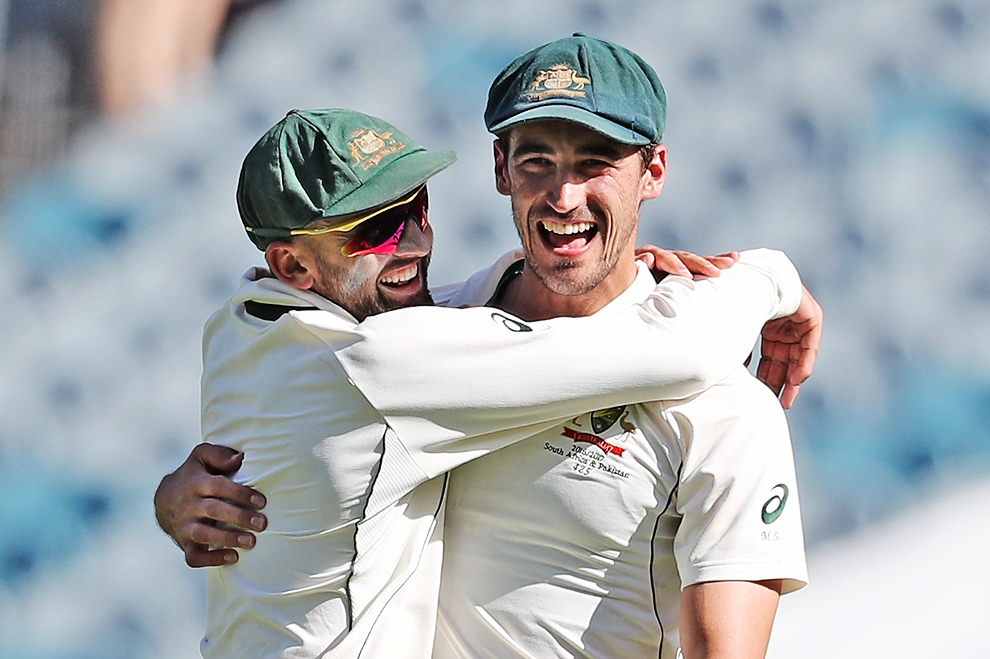 Won't take it Lyon down: Starc hasn't been afraid to speak his mind and disagree with popular opinion when the situation has called for it