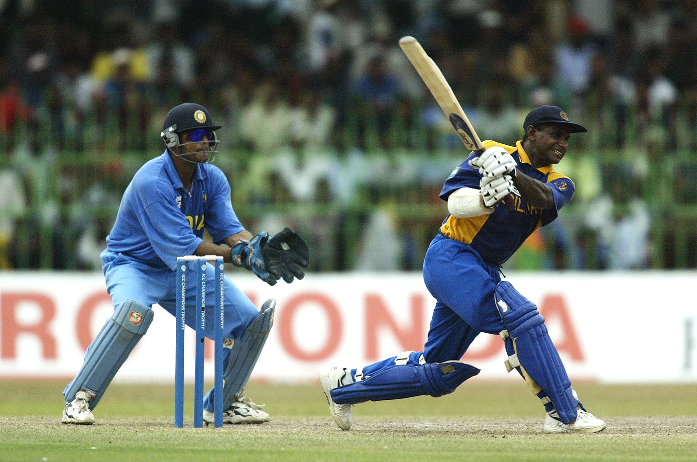 Sanath Jayasuriya on his way to 74