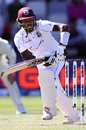 Jermaine Blackwood steers into the leg side, New Zealand v West Indies, 2nd Test, second day, December 12, 2020