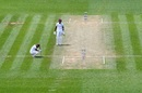 Jermaine Blackwood reacts after being dismissed, New Zealand v West Indies, 2nd Test, second day, December 12, 2020