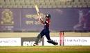 Afif Hossain heaves one away, Beximco Dhaka vs Fortune Barishal, Bangabandhu T20 Cup, Dhaka, December 12, 2020