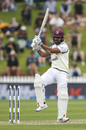 John Campbell swivels to pull, New Zealand vs West Indies, 2nd Test, Wellington, 3rd day, December 13, 2020