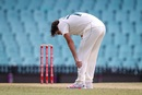 Sean Abbott appears to be in some discomfort, Australia A vs Indians, Tour game, Sydney, 2nd day, December 12, 2020