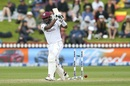 Jermaine Blackwood is bowled, New Zealand vs West Indies, 2nd Test, Wellington, 3rd day, December 13, 2020