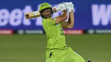 Daniel Sams cracked his highest T20 score during a special all-round show