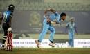 Mustafizur Rahman in action,  Beximco Dhaka v Gazi Group Chattogram, 2nd qualifier, Bangabandhu T20 Cup, Dhaka, December 15, 2020