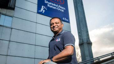 The Kia Oval was renamed the Kia Shahidul Alam Ratan Oval for 24 hours