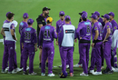 Hobart's Adam Griffith was one of the first two coaches to use the BBL's X-factor sub, Hobart Hurricanes vs Adelaide Strikers, Launceston, December 15, 2020