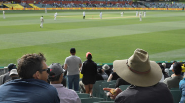 Crowds at the cricket: Adelaide Oval was running at 50% capacity for Australia's day-night Test against India